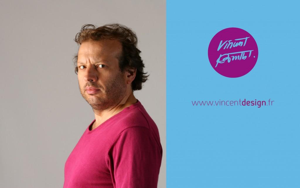 Portrait de Vincent designer